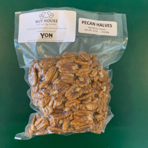 bag of Yon Family Farms pecan halves