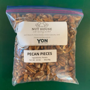bag of Yon Family Farms pecan pieces