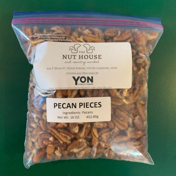 bag of Yon Family Farms pecan pieces