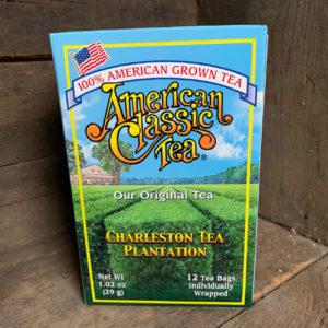 Box of Charleston Tea Plantation Original Tea