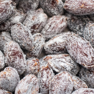 Up close photo of Nut House's delicious Pecan Stuffed Dates