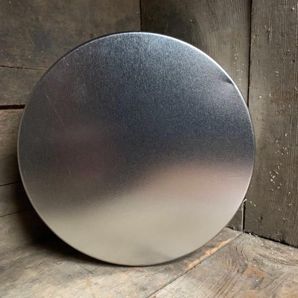 small silver tin